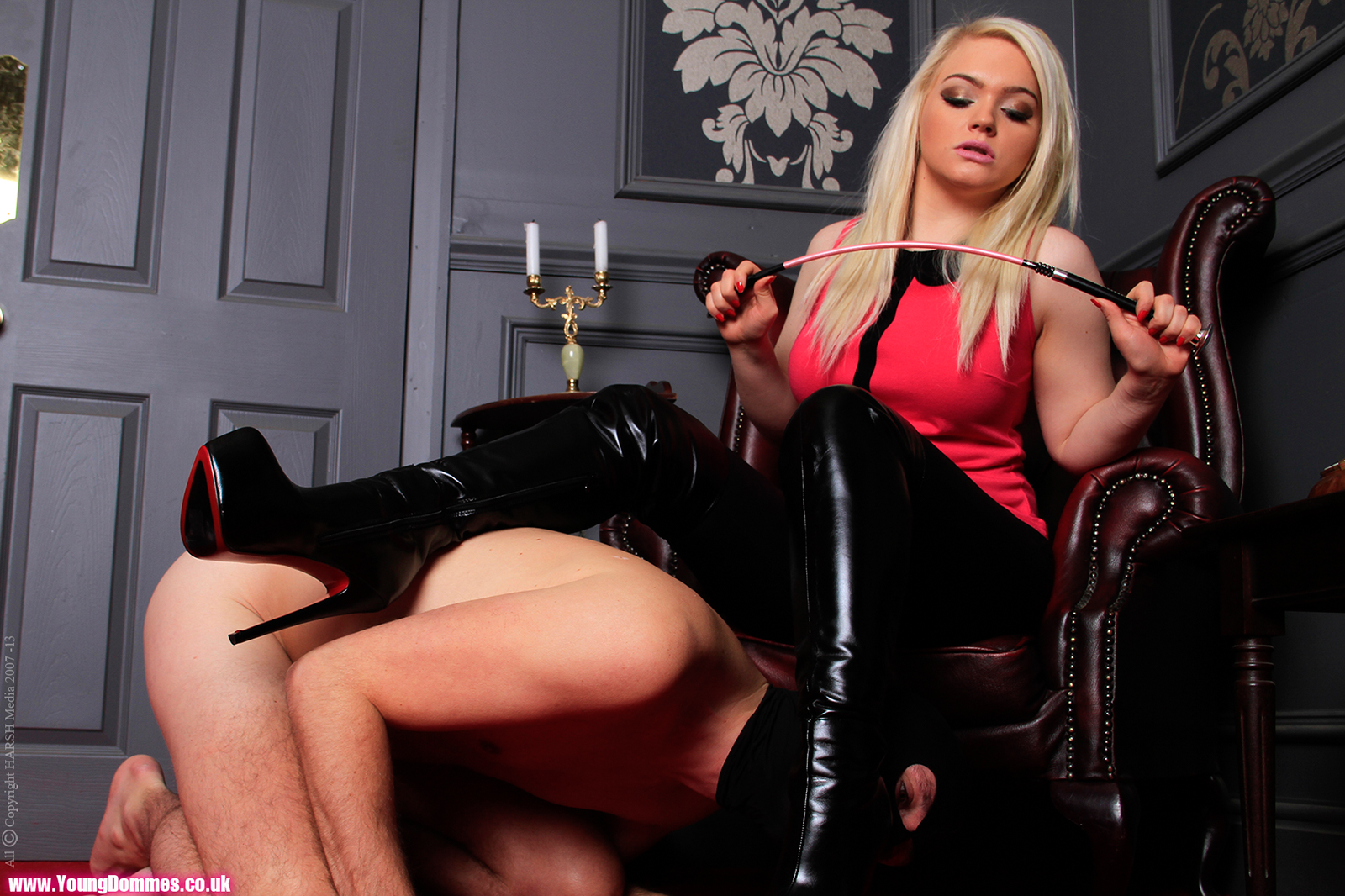 Dominatrix young The Punishment